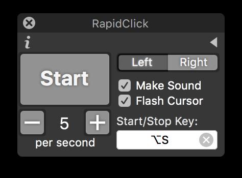 Auto Clicker for Mac — RapidClick